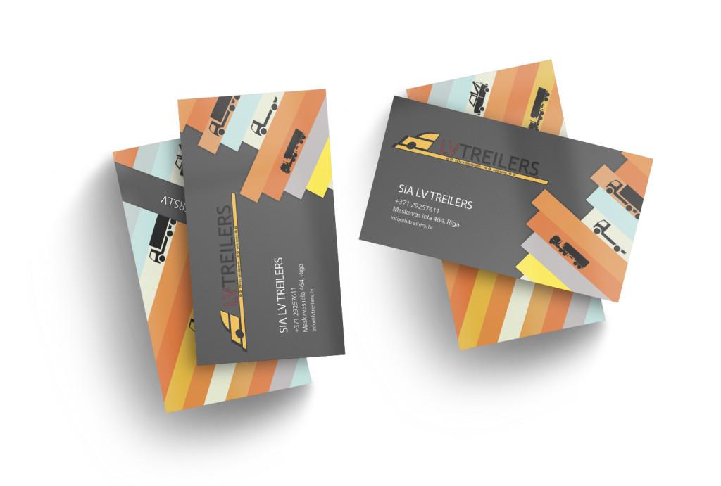 Vizītkartes izstrāde